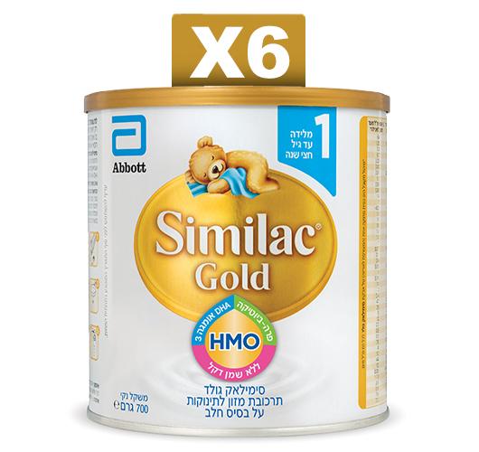 מארז 6 יחידות סימילאק GOLD